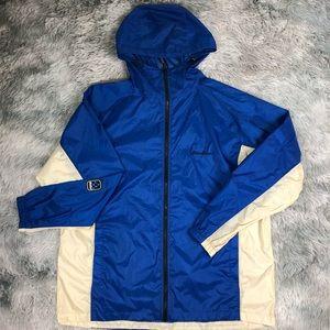 Eddie Bauer Waterproof Stuffable Packable Jacket